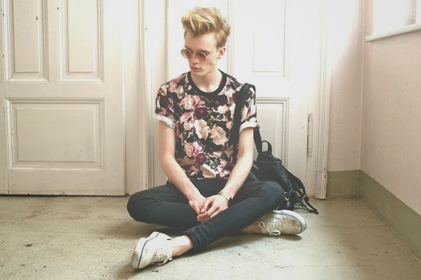 look-masculino-floral-2