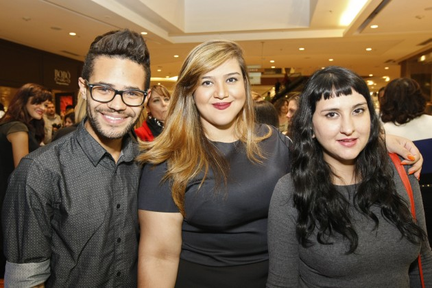 Jeff Guimarães, Maria Clara Nery e Marina Barcellos